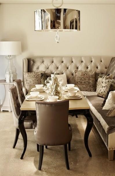 Un lampadario per il tavolo da pranzo - Si trovano sul tavolo da pranzo 94 ...