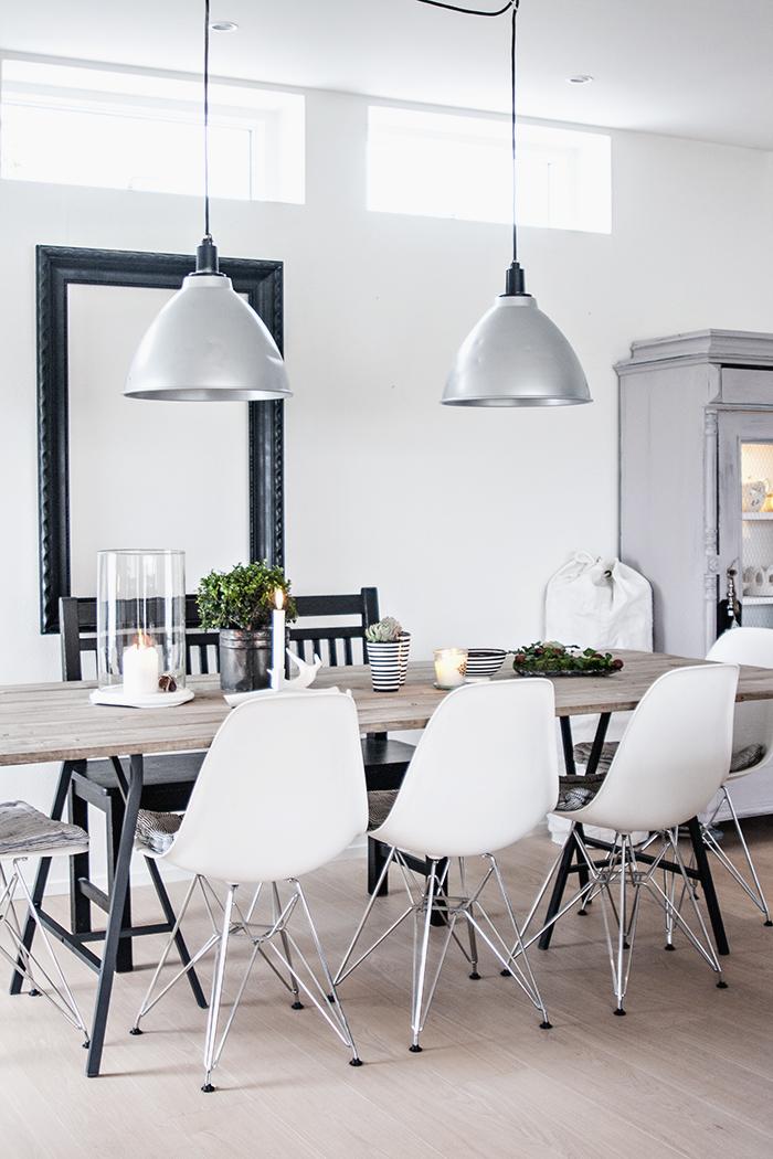 Un lampadario per il tavolo da pranzo - Luci da tavolo design ...