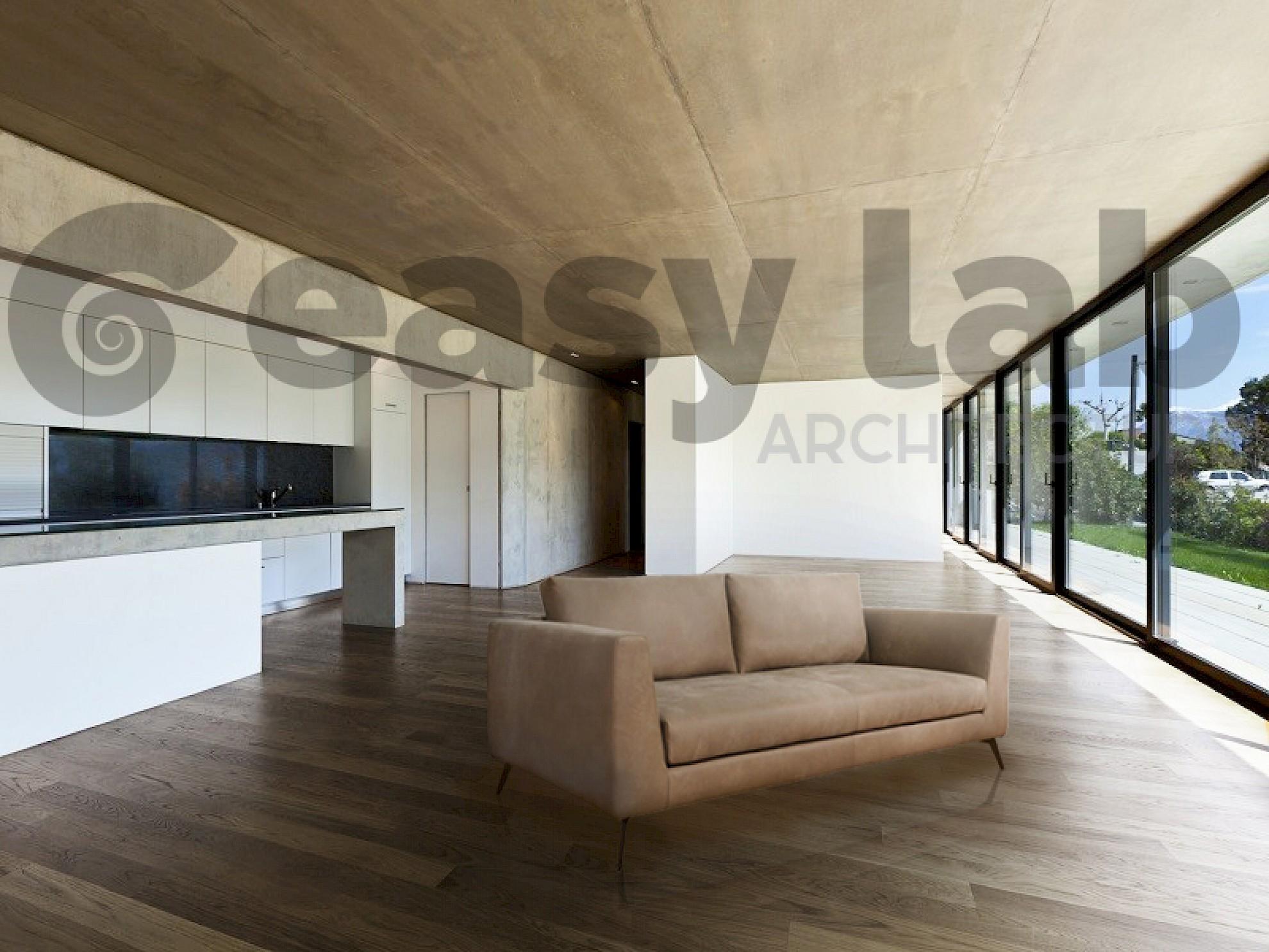 Fotoinserimento in ambiente di divano creazione venice for Bergamin arredamenti mestre